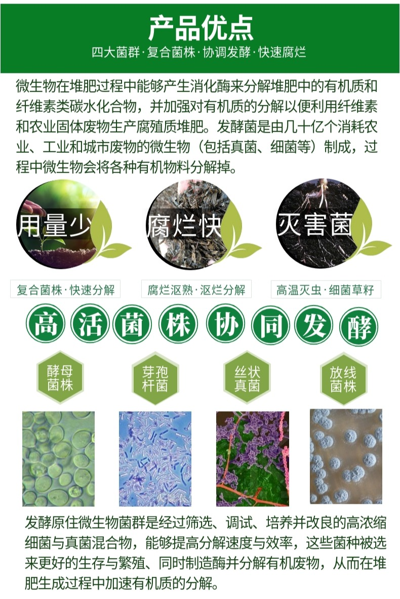 秸秆腐熟剂15803885411仲禧生物